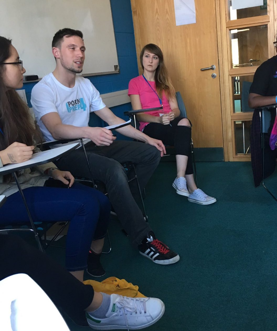 Porm4PrEP running workshops at the Brighton Sexpression Conference 2016