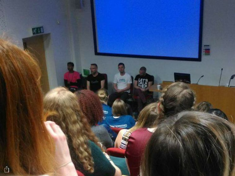 Jason Domino on panel at Q&A debate for PrEP at the Brighton Sexpression 2016 Conference